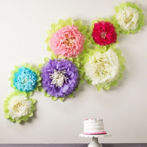 Tissue paper flower decorations tissue paper flowers decoration mightylinksfo