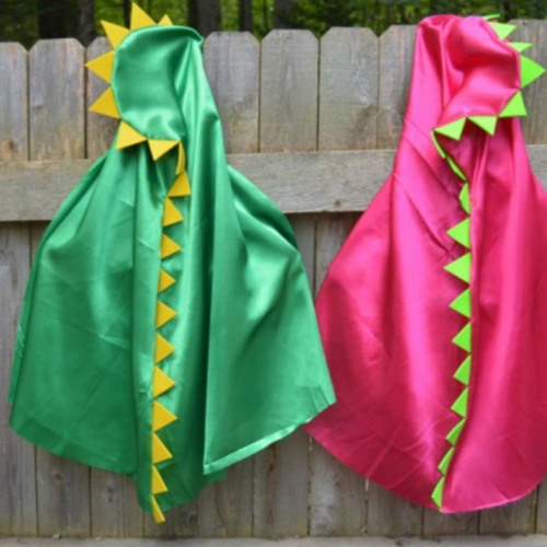 Personalized Dinosaur Cape