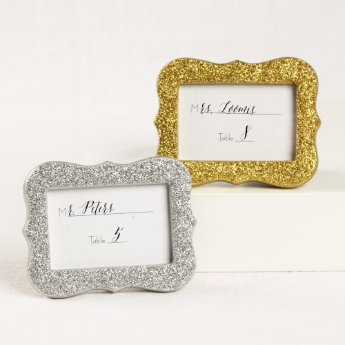 Glitter Place Card Holder/Photo Frame