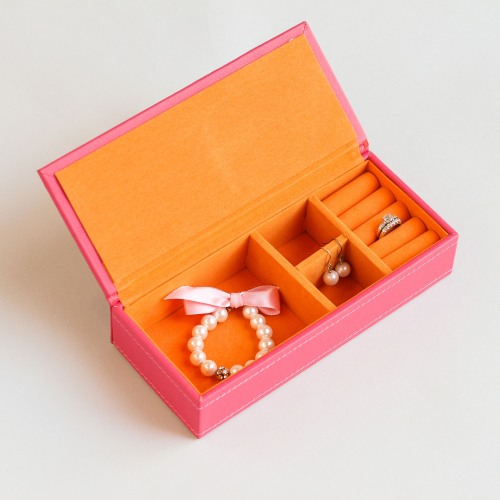 Personalized Vegan Leather Jewelry Box