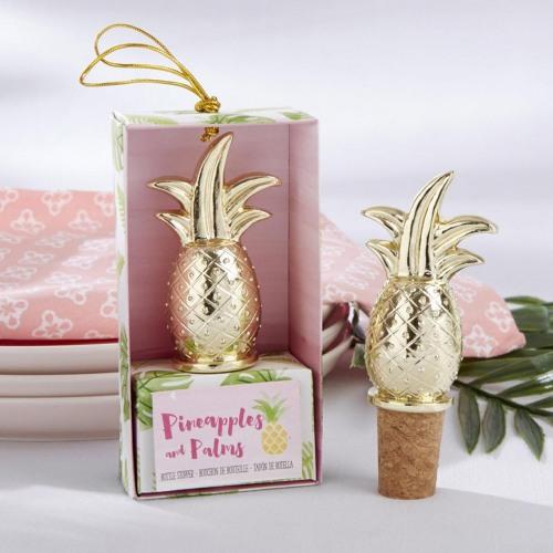 Pineapple Bottle Stopper