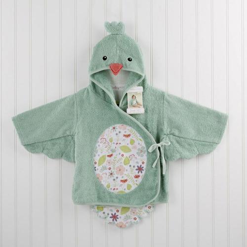 Personalized Baby Bird Bath Robe