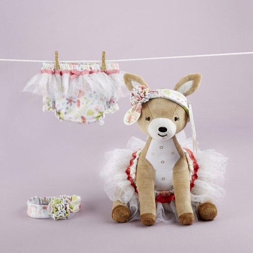 Deer Plush with Bloomers Gift Set