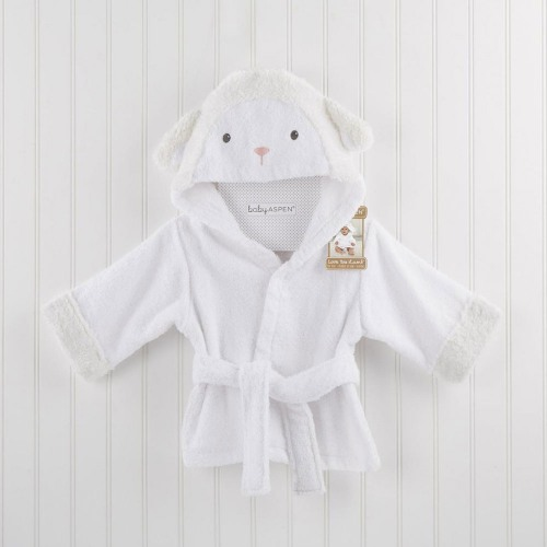 Personalized Lamb Bath Robe