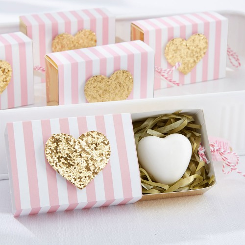 """Heart of Gold"" Soap Favor"