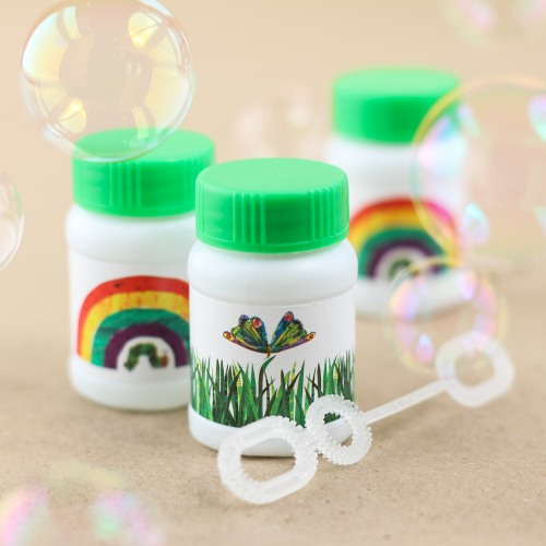 The Very Hungry Caterpillar Bubble Favors