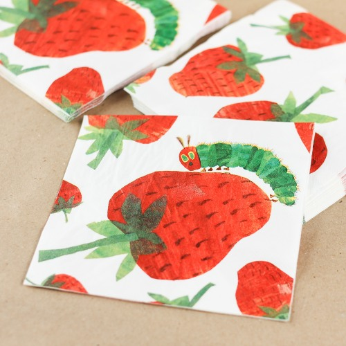 The Very Hungry Caterpillar Party Napkins