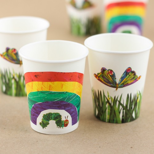 The Very Hungry Caterpillar Party Cups