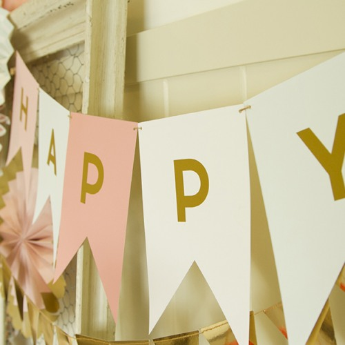 Diy Wedding Word Banners: DIY Letter Banner