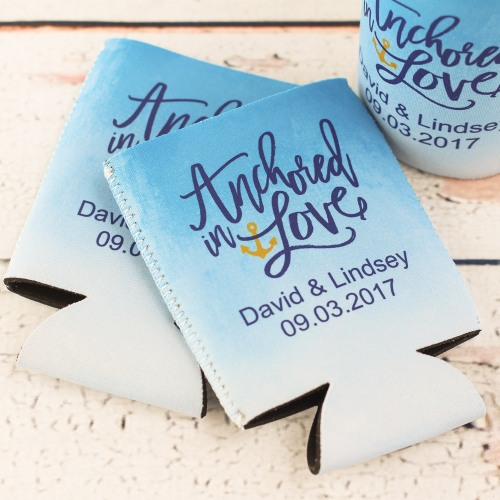 Personalized Anchor In Love Can Sleeve