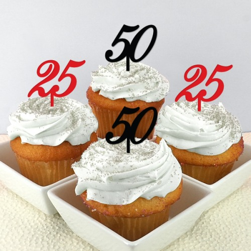 Personalized Birthday Cupcake/Cake Toppers