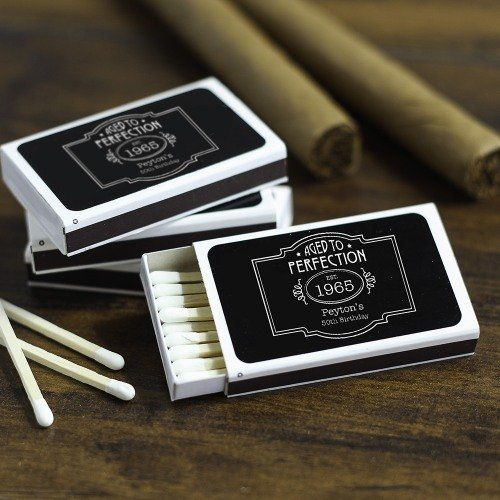 Personalized Birthday Matchboxes