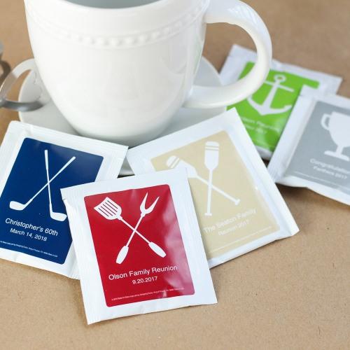 Personalized Party Tea Bag Favors