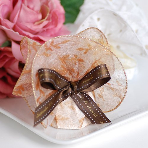 Sheer Italian Favor Wraps