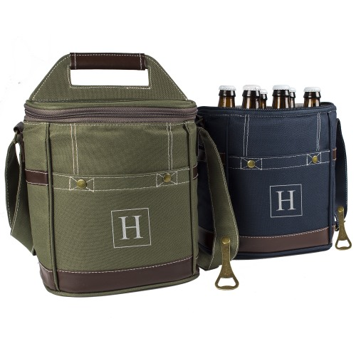 Personalized 6 Pack Beer Bottle Cooler