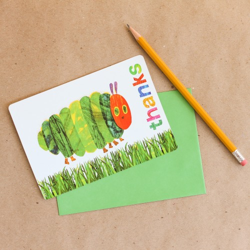 The Very Hungry Caterpillar Thank You Notes