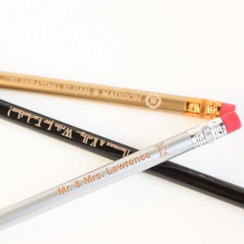 Personalized Wedding Pencils