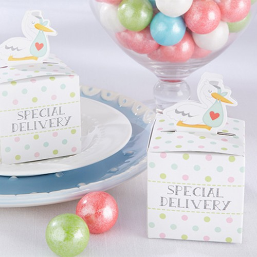 Special Delivery Stork Favor Boxes