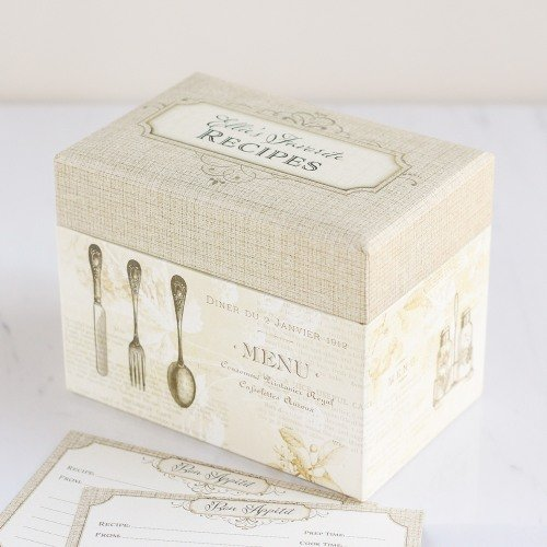 Personalized Recipe Box