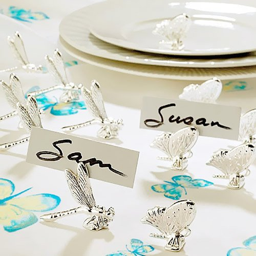 Butterfly and Dragonfly Place Card Holders