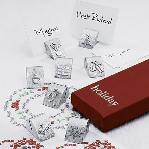 Holiday Place Card Holders