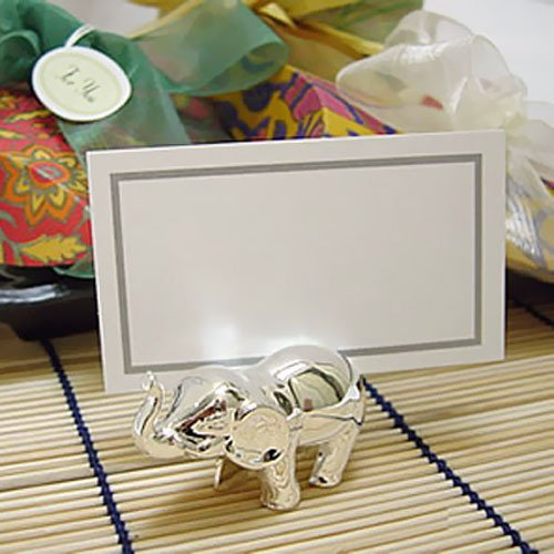 Elephant Place Card Holder