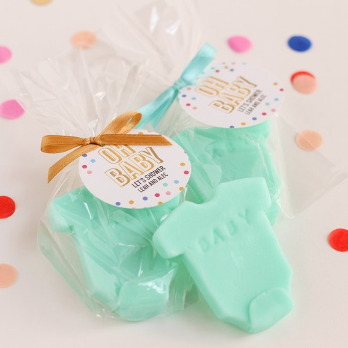 Personalized Baby Shower Soap Favor