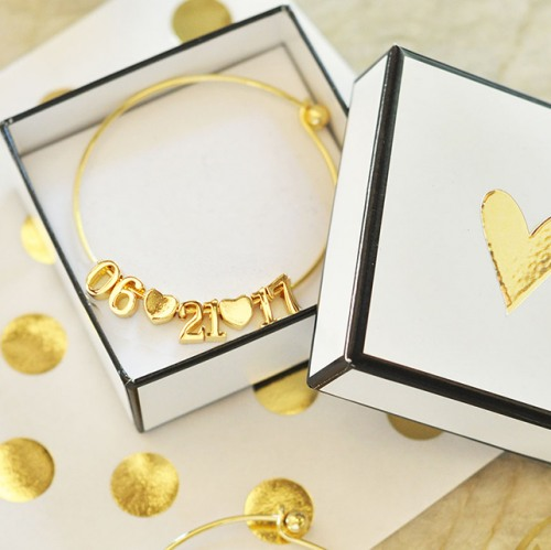 Date Bracelet with Gift Box