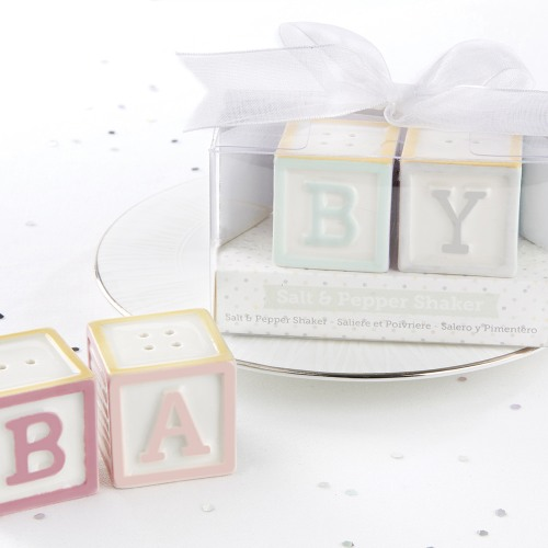 Baby Blocks Salt and Pepper Shakers