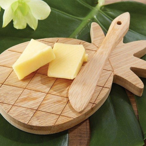 Pineapple Shaped Cheeseboard and Spreader