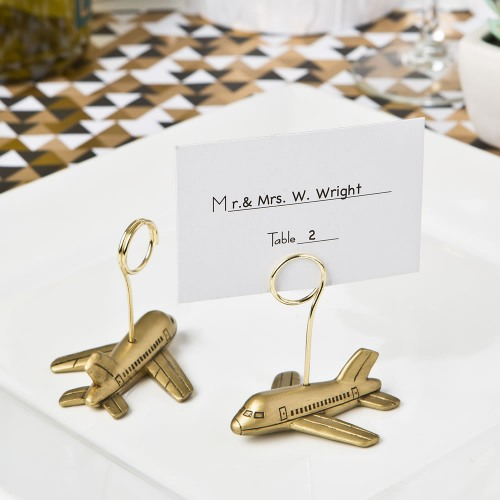 Airplane Place Card Holders
