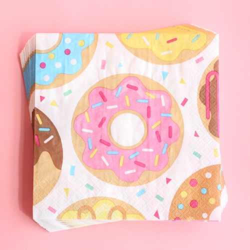 Donut Party Luncheon Napkins