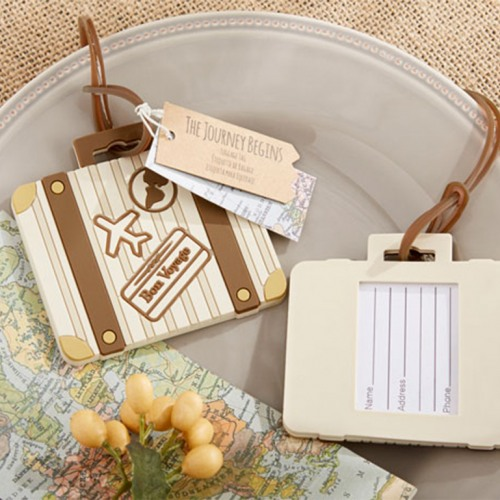 Vintage Suitcase Luggage Tag