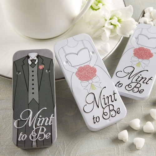 Mint to Be Bride and Groom Mint Tins