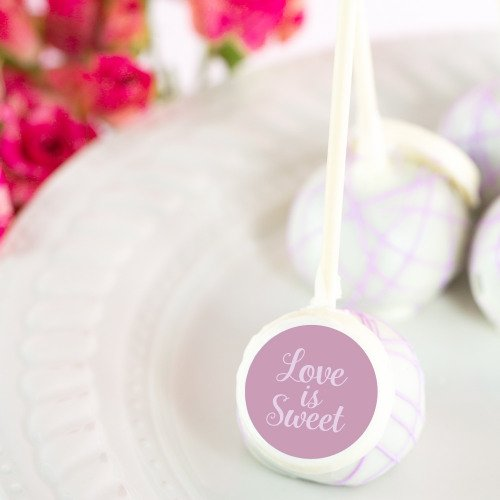 Custom Bridal Cake Pops Love is Sweet