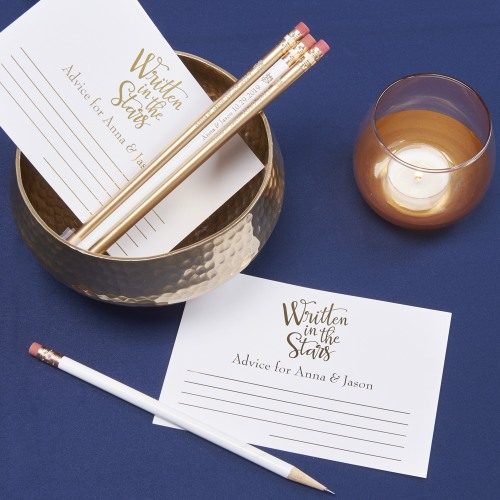 Personalized Wedding Advice Cards