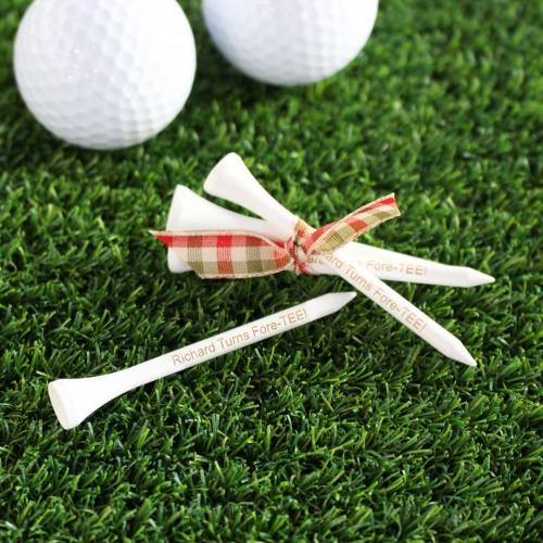 Personalized Golf Tee Birthday Favors