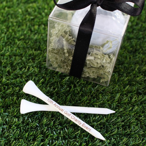 Personalized Golf Tee Party Favors